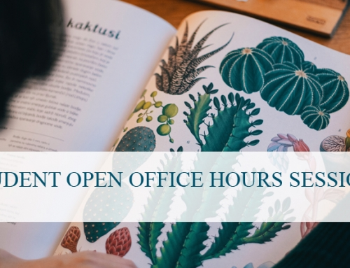 Student Open Office Hours Session – January 18th